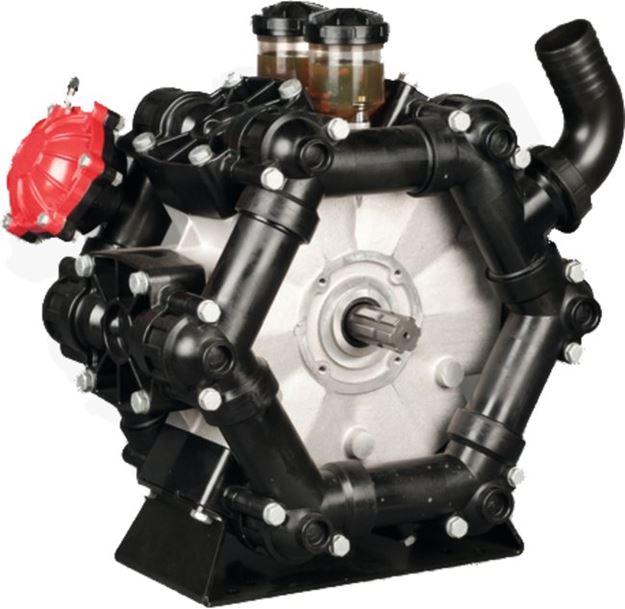 Image sur Pompe IMOVILLI POMPE D406 à Piston/Membrane 20 Bar